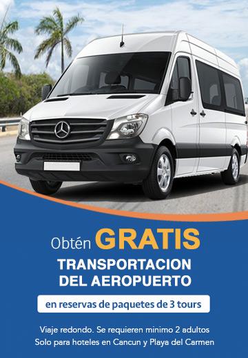 Promoción transportación gratis