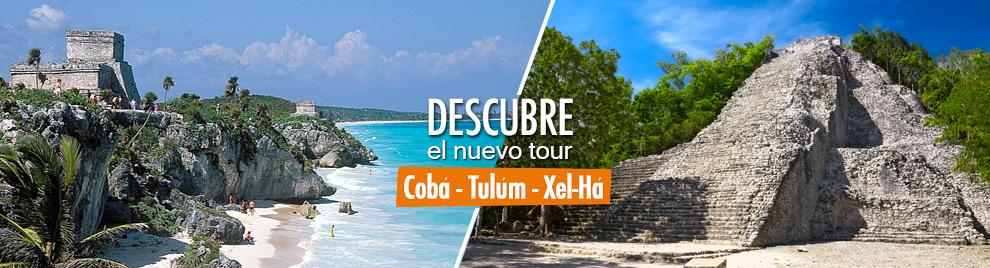Descubre nuestro nuevo tour a Coba, Tylum y Xel-Ha