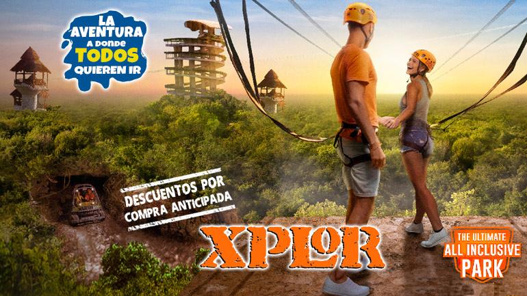 Visita el parque de Aventuras Xplor