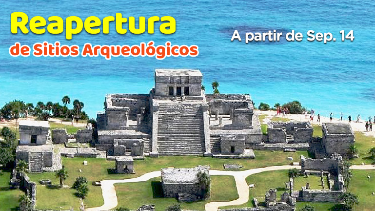 Reapertura ruinas mayas