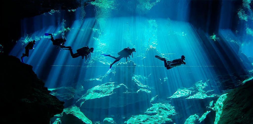 Yucatan Cenote diving