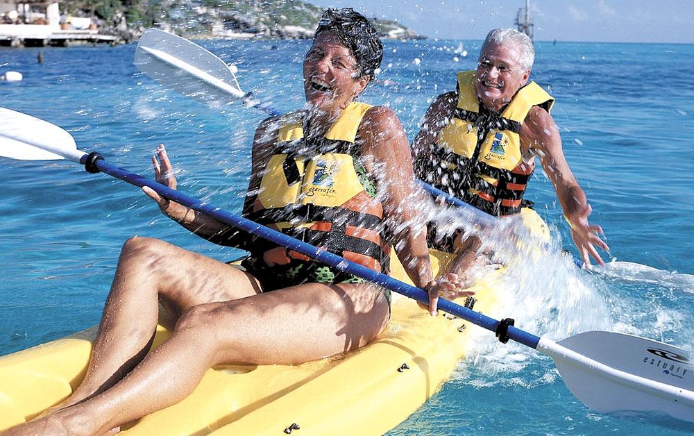 Garrafon Park Kayak activity