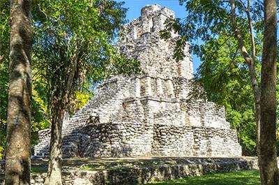 Muyil Ruins, a door to Sian Kaan