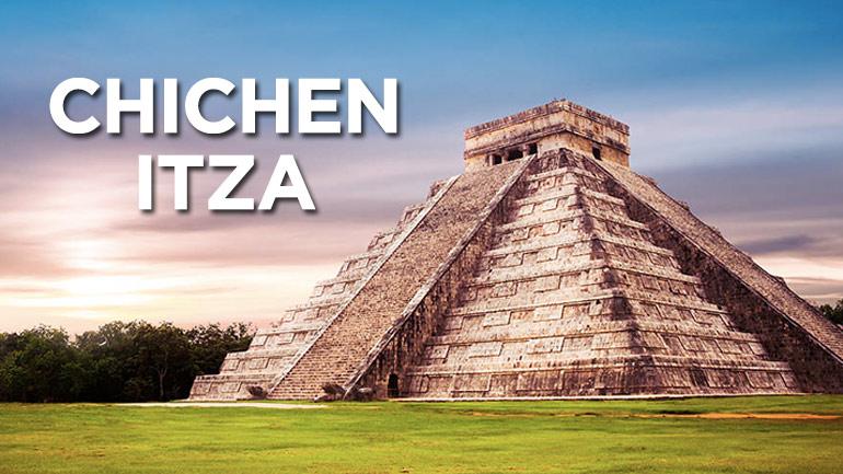 Chichen Itza al atardecer