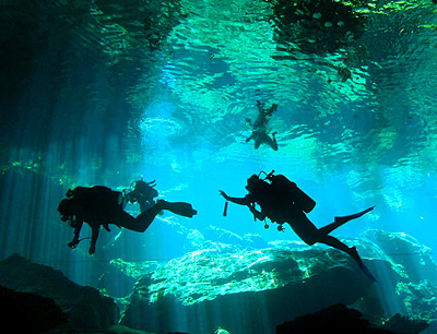 Cenotes around Cancun