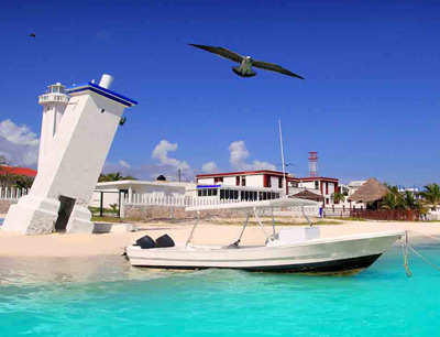 Puerto morelos a friendly village south of cancun for Puerto morelos fishing