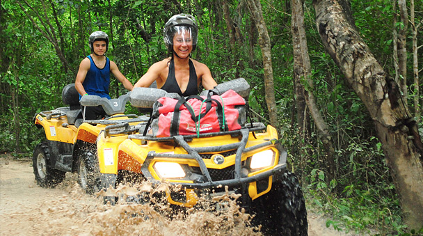 Atv Xtreme Jungle Jims Cancun Adventure Tours