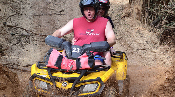 take a drive in the Riviera Maya on your ATV