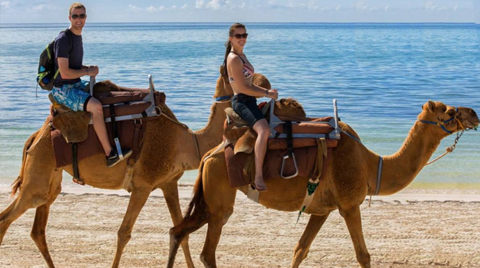 Camel Safari ride in Maroma Cancun
