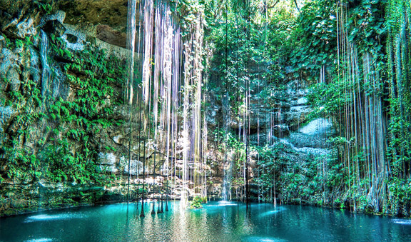 Swim at Cenote near Chichen Itza