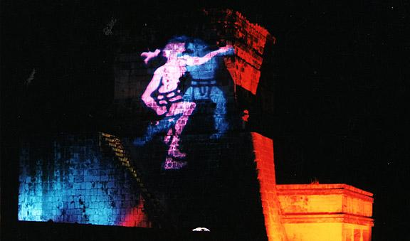 Chichen Itza light and sound