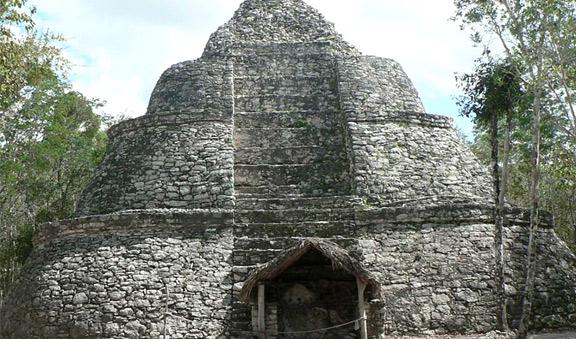 Mayan vestiges at Coba