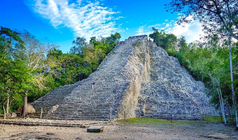 Coba main pyramid