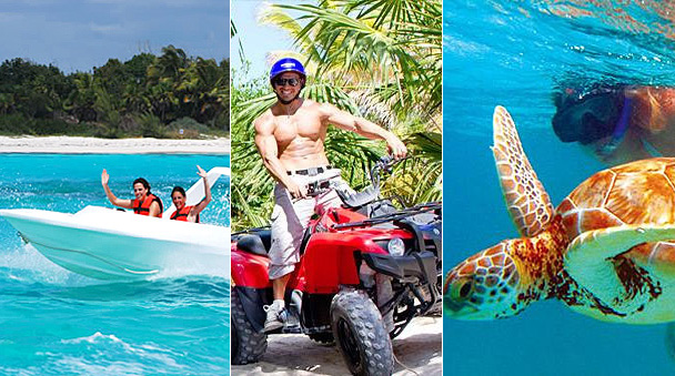 Reef Adventure, ATV and Speed boat
