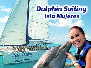 Dolphin Sailing Isla Mujeres