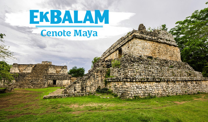 Ek Balam and Cenote Maya
