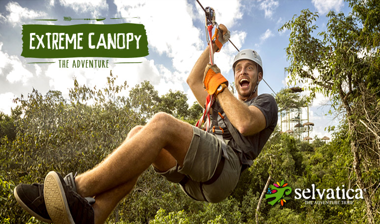 Extreme Canopy Adventure at Selvatica Park