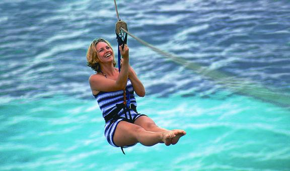 Dare to fly through caribbean sea ziplines