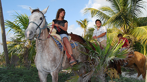 Horseback Ride in Cancun Maroma Riviera Maya