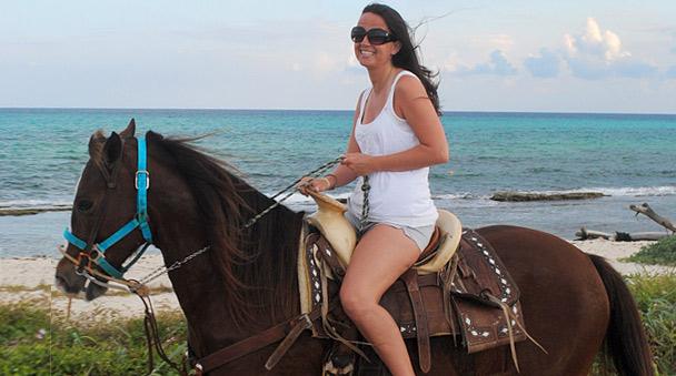 Riviera Maya Riding Your Horse In The Exotic Jungle Horseback Rancho Bonanza