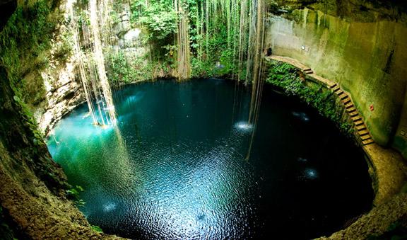 Mayan Cenote visit