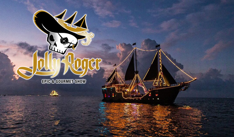 Jolly Rogers El ultimo show pirata nocturno en Cancun