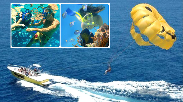 Reef Adventure and Parasailing