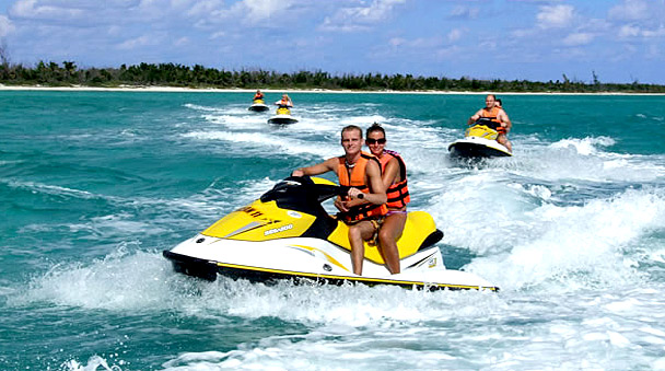 Waverunner adventure in Maroma Beach in the Riviera Maya