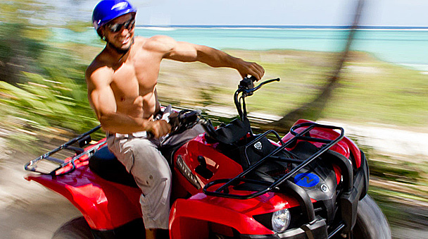 drive your atv throught jungle at maroma beach