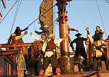 Admira la asombrosa batalla del show pirata