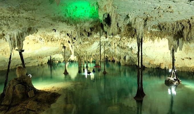 Sac-Actun Cenotes