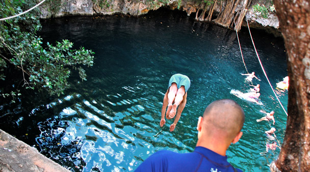 Dive into the Selvatica Cenotes