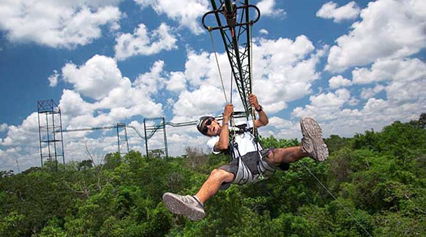 Dare to try the Tarzania zipline at Selvatica