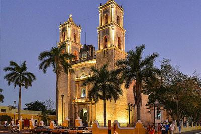 Atardecer en la catedral de Valladolid