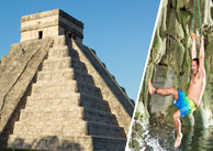 Chichen Itza and Cenote Maya photo