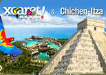 Xcaret and Chichen Itza