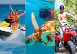 Reef Adventure, ATV y Waverunner