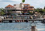 Dolphin facilities in Puerto Aventura