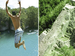 Coba and Xel-Ha Tour