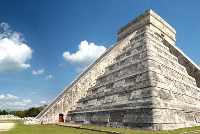 The Chichen Itza Pyramide