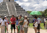 Listen the Chichen Itza history by an expert guide