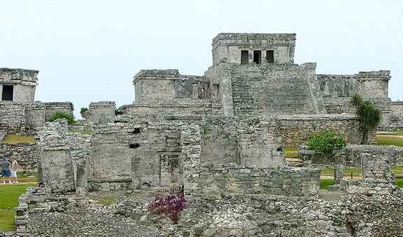 Tulum walled city