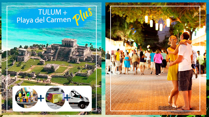 Tulum and Playa del Carmen Tour