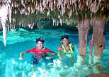Swimming into cenotes