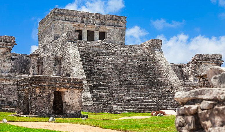 The Castle Tulum Mayan Ruins