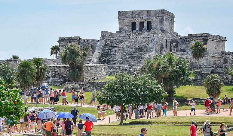 Tulum tourist attraction
