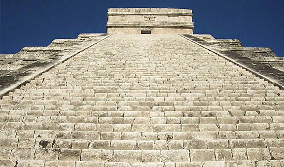 Pyramid Top at Chichen